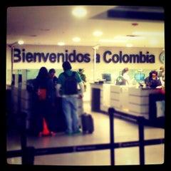 Photo taken at Aeropuerto Internacional El Dorado (BOG) by Camilo M. on 12/19/2012