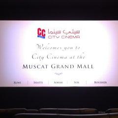 Photo taken at City Cinema, MGM by Mahir on 2/24/2013