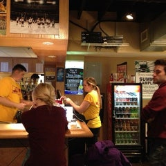 Photo taken at Campus Pizza by Christine W. on 3/2/2013