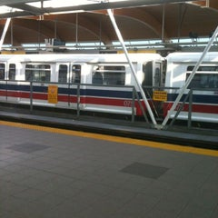 Photo taken at Brentwood Town Centre SkyTrain Station by Rob W. on 3/29/2013