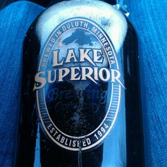 Photo taken at Lake Superior Brewing Co. by Jordan L. on 4/4/2013