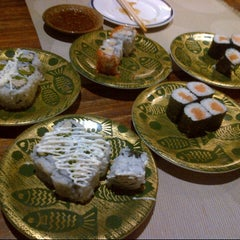 Photo taken at Kiyadon Sushi by Nancy L. on 9/27/2012