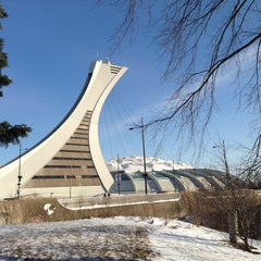 Photo taken at Stade Olympique by Jocelyn D. on 2/10/2013