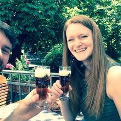 Photo taken at Brauereischenke Kastaniengarten by David N. on 5/24/2014