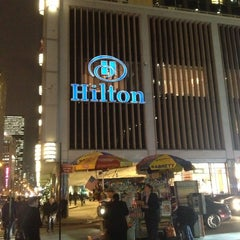 Photo taken at New York Hilton Midtown by Tom S. on 12/11/2012