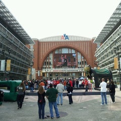 Photo taken at American Airlines Center by Cynthia C. on 4/27/2013