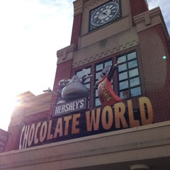 Photo taken at Hershey's Chocolate World by Curtis A. on 11/18/2012