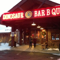 Photo taken at Dinosaur Bar-B-Que by Joanne O. on 12/28/2012