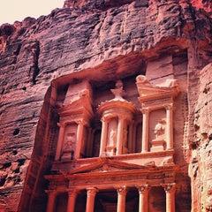 Photo taken at Petra البتراء by Antonio G. on 10/2/2012