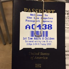 Photo taken at Los Angeles Passport Agency by Jamison N. on 2/24/2014
