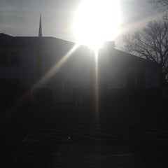 Photo taken at First Church Of Christ Congregational by Eric A. on 4/20/2014