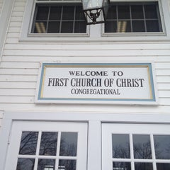 Photo taken at First Church Of Christ Congregational by Eric A. on 2/22/2015