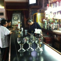 Photo taken at Cantina Salón Madrid by Pepe S. on 12/1/2012