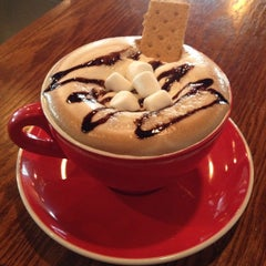 Photo taken at The Corner Perk Cafe, Dessert Bar, and Coffee Roasters by Corner P. on 10/14/2014
