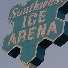 Photo taken at Southwest Ice Arena by Cris J. on 4/6/2014