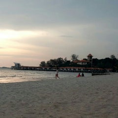 Photo taken at Batu 4 PD Beach by Ziraa F. on 5/27/2015