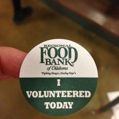 Photo taken at Regional Food Bank of Oklahoma by Cynthia N. on 10/27/2012