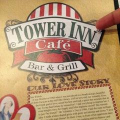 Photo taken at Tower Inn Cafe by Jerron H. on 7/18/2013
