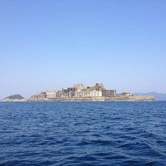 Photo taken at 端島 (軍艦島) Hashima (Gunkanjima) Island by Takahito Y. on 5/5/2013