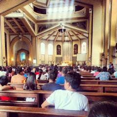 Photo taken at National Shrine of Our Lady of the Holy Rosary of La Naval de Manila (Sto. Domingo Church) by Arvie T. on 8/4/2013