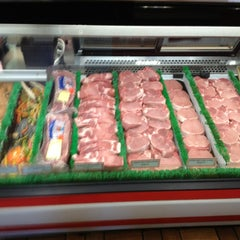 Photo taken at Schmidts Meat Market by edward r. on 1/15/2013