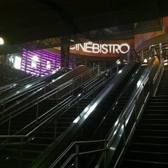 Photo taken at CinéBistro at Peninsula Town Center by kristie .p. h. on 11/7/2012