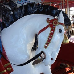 Photo taken at Greenport Antique Carousel by Frank A. on 2/26/2012