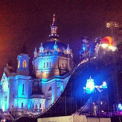 Photo taken at Red Bull Crashed Ice 2014 by Jake L. on 1/27/2013