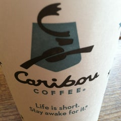 Photo taken at Caribou Coffee by Andrew B. on 3/27/2013
