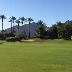Photo taken at Hyatt Regency Indian Wells Resort & Spa by Renee on 8/1/2013