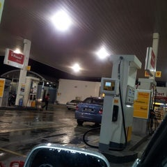 Photo taken at Shell by Atie A. on 10/21/2012
