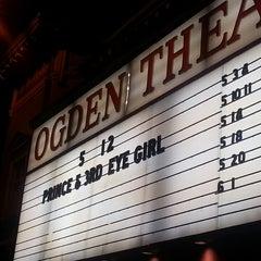 Photo taken at Ogden Theatre by Allison M. on 5/13/2013
