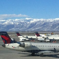 Photo taken at Salt Lake City International Airport (SLC) by Warren F. on 3/4/2013
