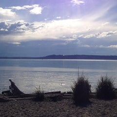Photo taken at Edmonds Off-Leash Dog Park by Tiffany B. on 6/18/2013