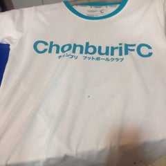 Photo taken at Chonburi F.C. Superstore by Oh J. on 9/21/2015