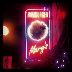 Photo taken at Hamburger Mary's by Alyssa G. on 9/27/2012