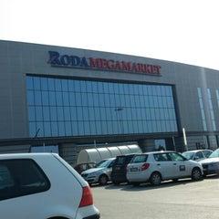 Photo taken at Roda megamarket by Srdjan on 3/30/2014