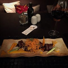 Photo taken at Restaurante Arola Vintetres by Alan D. on 2/14/2015