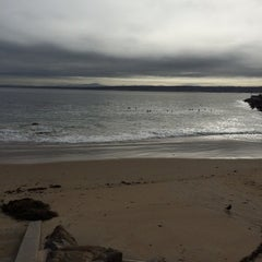 Photo taken at Breakwater Beach by Ruth H. on 4/30/2014