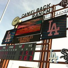 Photo taken at Camelback Ranch - Glendale by David L. on 3/19/2013
