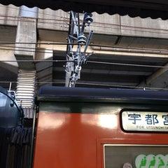 Photo taken at 石橋駅 (Ishibashi Sta.) by Masato K. on 9/28/2013