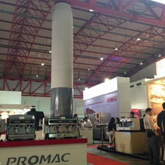 Photo taken at JIExpo Hall B by Massimo C. on 4/11/2013