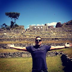 Photo taken at Templo de las Tres Ventanas by Daniel L. on 8/13/2013
