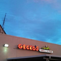 Photo taken at Gecko's by Charles T. on 1/14/2014