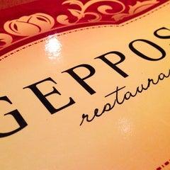 Photo taken at Geppos Restaurante by Haroldo F. on 2/24/2013