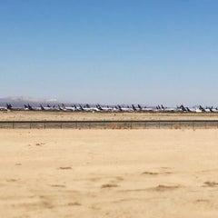 Photo taken at Southern California Logistics Airport (VCV) by Haroldo F. on 10/16/2014