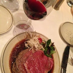 Photo taken at The Prime Rib by Sunkyoung P. on 2/2/2013