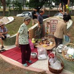 Photo taken at ป่าช้าจีน by เมธาวี ก. on 4/7/2013