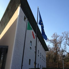 Photo taken at Embassy of Italy by Susie E. on 11/30/2012
