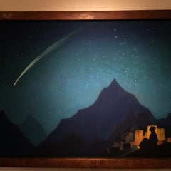 Photo taken at Nicholas Roerich Museum by Sergery S. on 12/11/2014